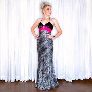 Blondie Nites Dresses - Animal Print Formal Homecoming Pageant Prom Dress